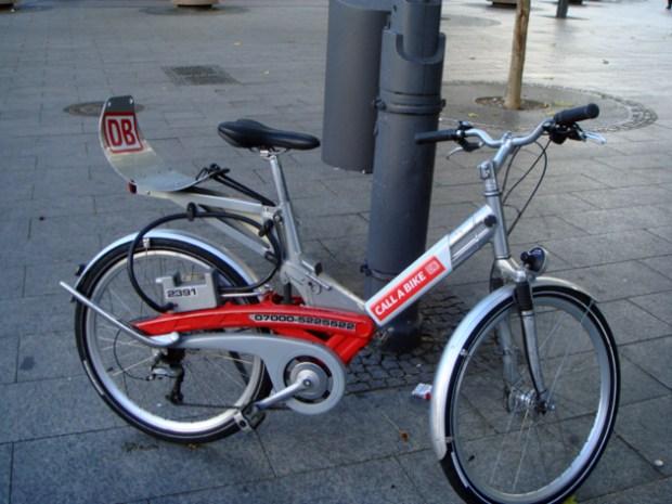 ドイツ国鉄(DB)仕様の自転車 何用?