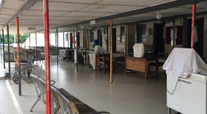 Ho Municipal Hospital suspends operations after recording two COVID-19 cases