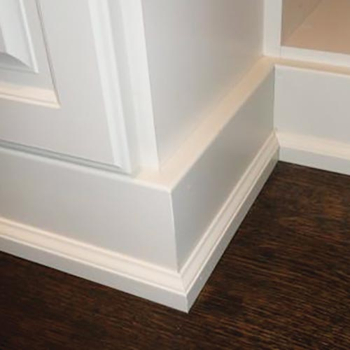 Plus Closets Trim and Moulding Options