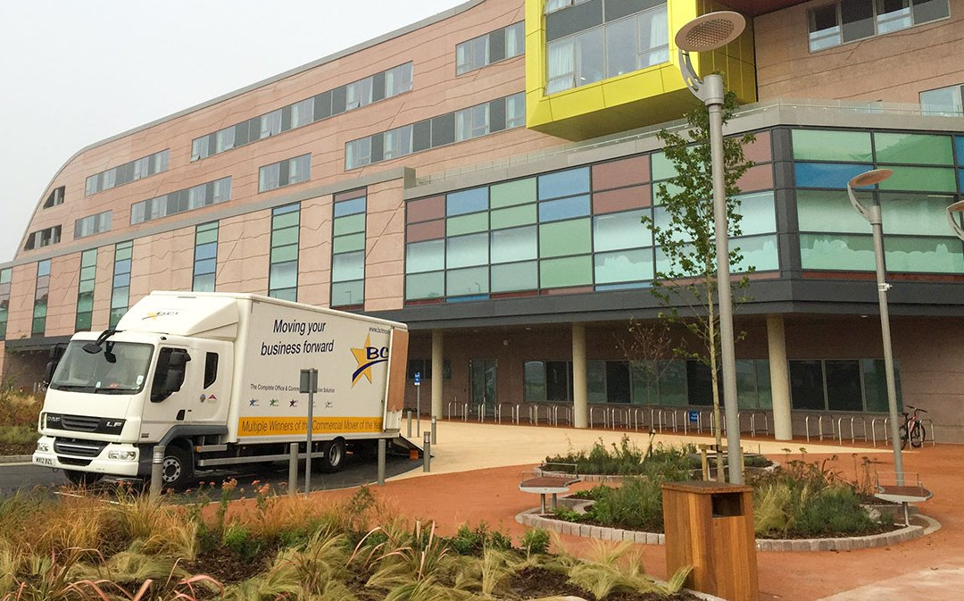 Alder Hey Children's Hospital Move with BCL and Pluscrates