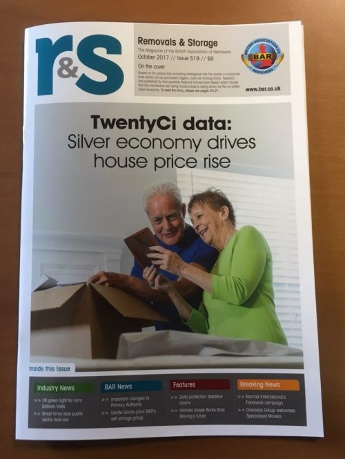 Removals and Storage Magazine - October edition