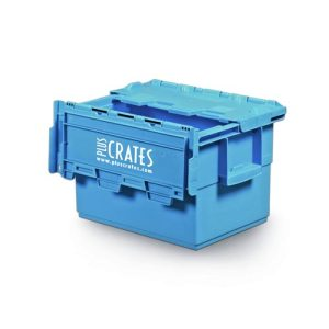 L1C - 25L small plastic moving crate