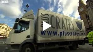 Pluscrates on BBC news video thumbnail