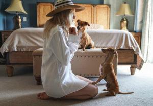 bonheur avec les animaux