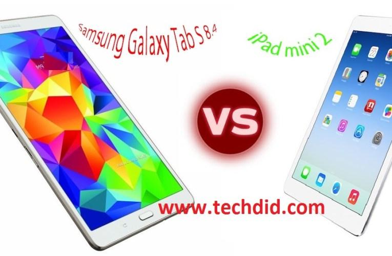 Samsung Galaxy Tab S 8.4 vs iPad mini 2 :Full Review