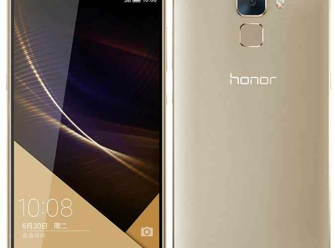 Huawei Honor 7 with 5.2-inch 1080p display, 20MP camera