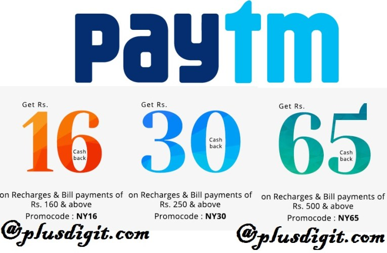 Paytm New Year Offers