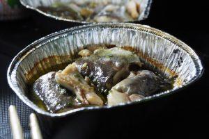 川魚のアヒージョ