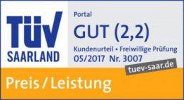 TÜV-geprüft: gut in Preis und Leistung | Assona