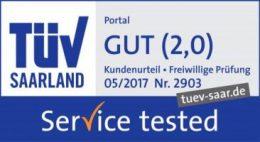 TÜV-geprüft: Gut in Servicequalität   assona