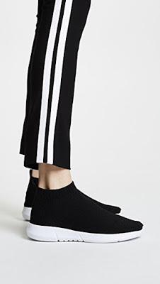 ▌Outfit ▌潮媽的條件:來一雙襪套鞋  McQ Alexander McQueen Black Hikaru Slip-On Sneakers