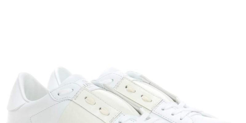 ▌Outfit ▌甜美小龐克:Valentino Garavani Open leather sneakers + See by Chloe Hana Bag