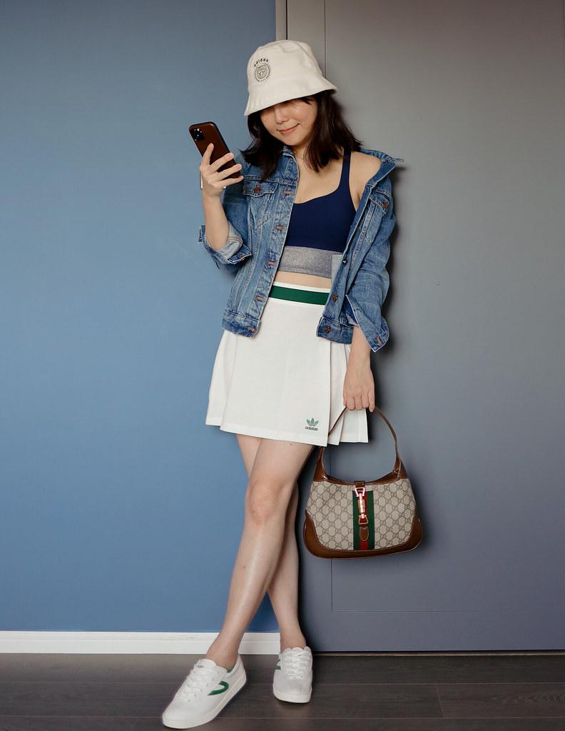 穿搭分享+ 超便宜Valentino小白鞋 + YSL mini Cassandra補貨七折 + Maison Kitsune x Line Friends + Currentbody最新優惠 +  Giglio對折起