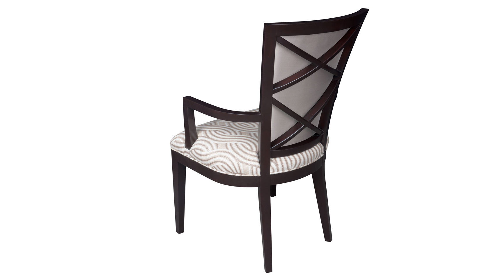double x back chairs aluminium reclining garden uk plush home carlisle dining arm chair