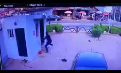 CCTV Footage Of Offa Bank Robbery Surfaces Online [Watch Video]