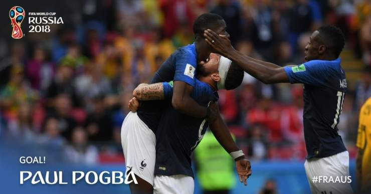 Download Video: France Vs Australia 2-1 Goals & Highlights