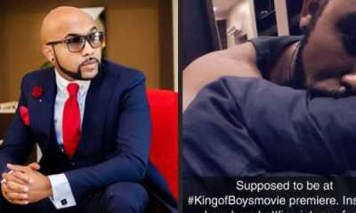 Banky W reveals he's suffering from intense food poisoning