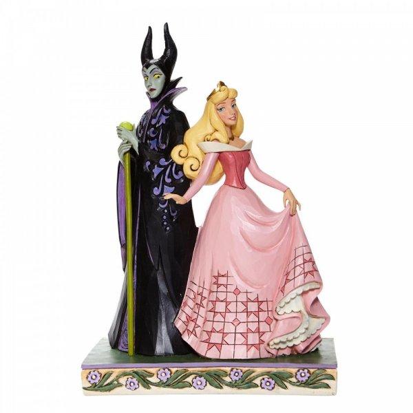 Sorcery and Serenity - Aurora and Maleficent Figurine