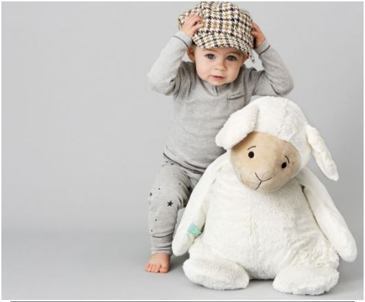 Lamb Lugano Soft Toy