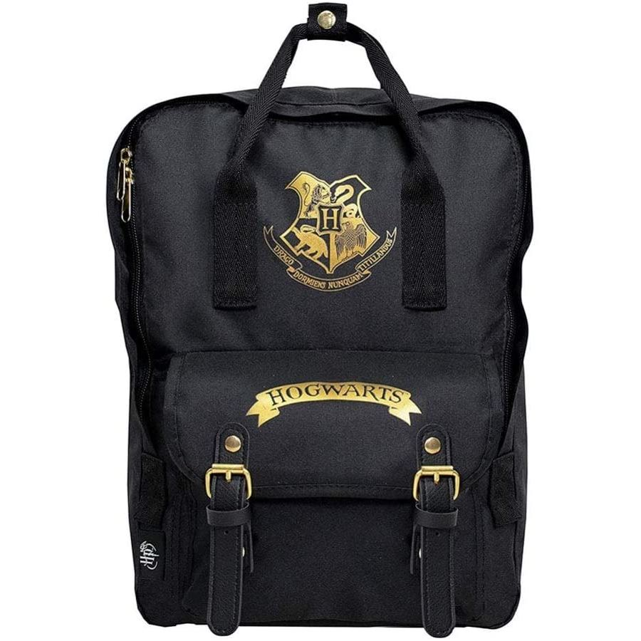Black Hogwarts Premium Backpack