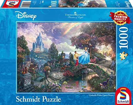 Disney Cinderella 100pc Thomas Kinkade Puzzle