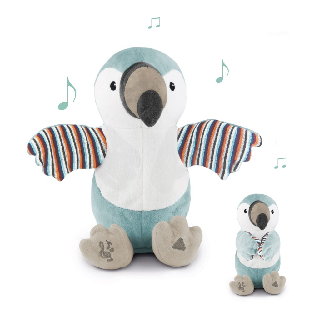 Timo the toucan-clapping soft toy
