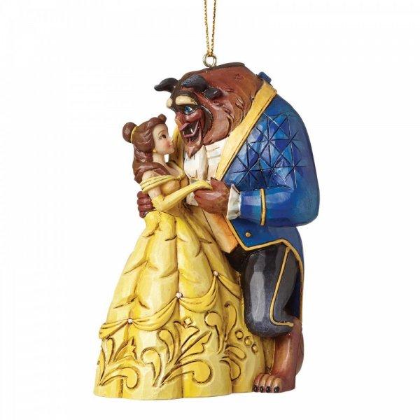 Beauty and the Beast Christmas pendant