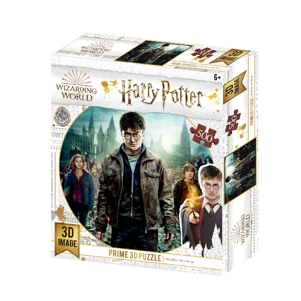 Lenticular harry potter puzzle