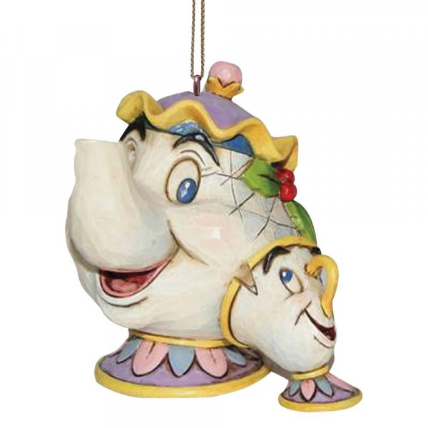 Mrs Potts and Chip Christmas Ornament