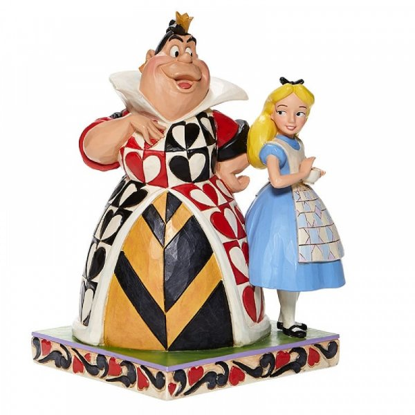 Chaos and Curiousity - Alice and the Queen of Hearts Figurin