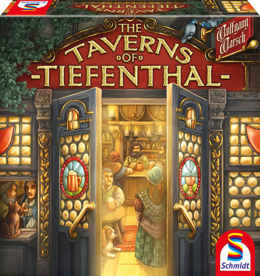 The Taverns of Tiefenthal - board game