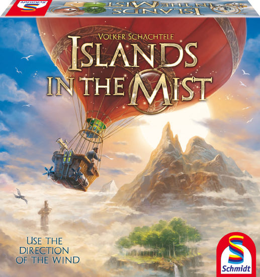 Islands in the Mist - board game