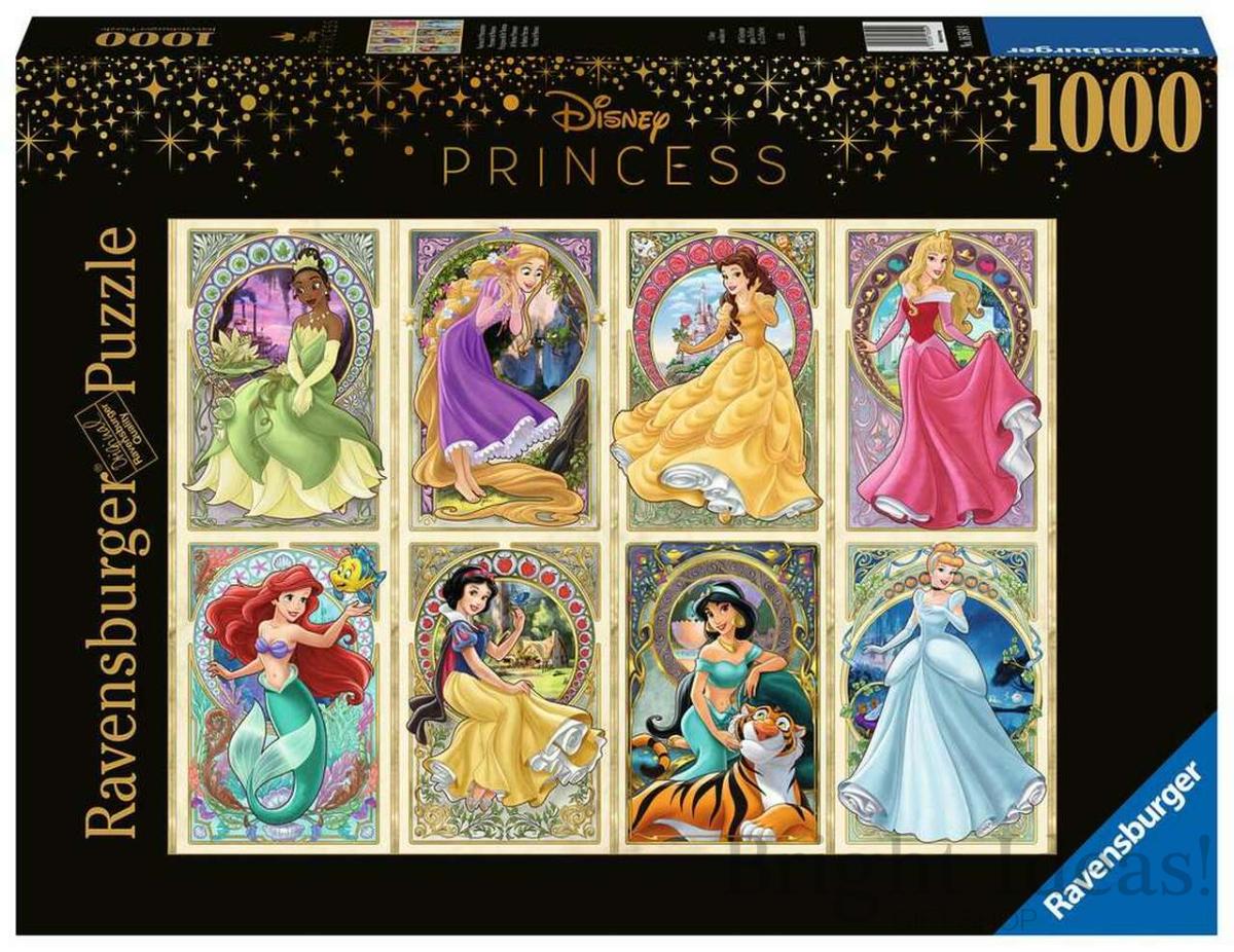 Princesses Art Nouveau Puzzle