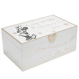 DISNEY Minnie Christmas-eve box - White & Gold