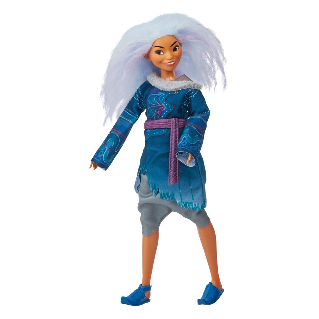 Disney Raya Sisu Fashion Doll with Lavender Hair
