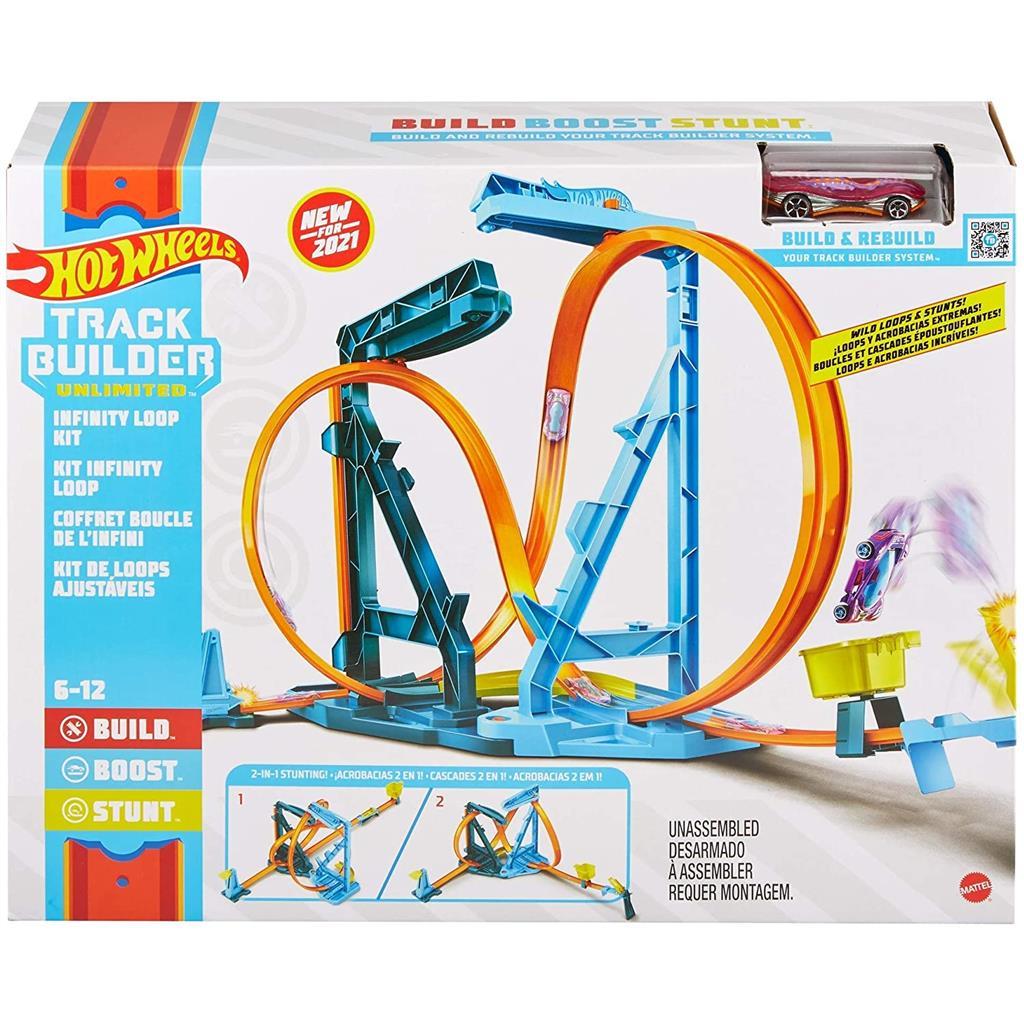 HotWheelsTrack Builder Unlimited Infinity Loop Kit