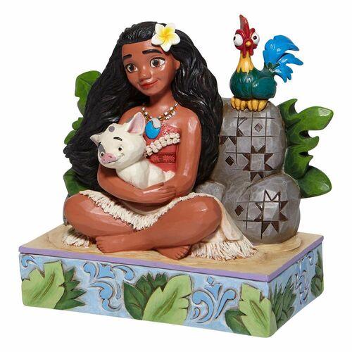 Welcome to Motunui - Moana with Pua and Hei Hei Figurine