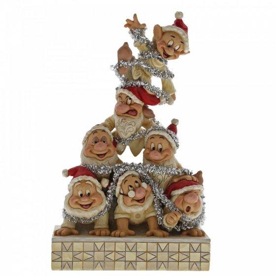 Precarious Pyramid 7 Dwarfs Figurine