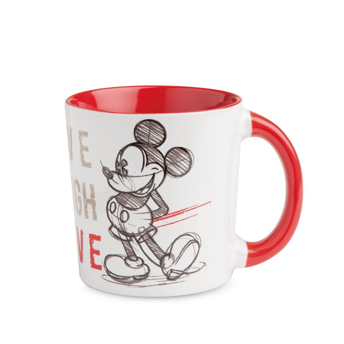 Mickey Mug Red