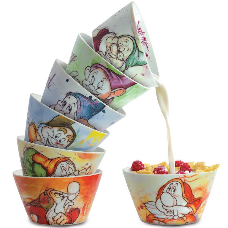 Bowl Bashful 7 Dwarfs - Disney Home - Snow White