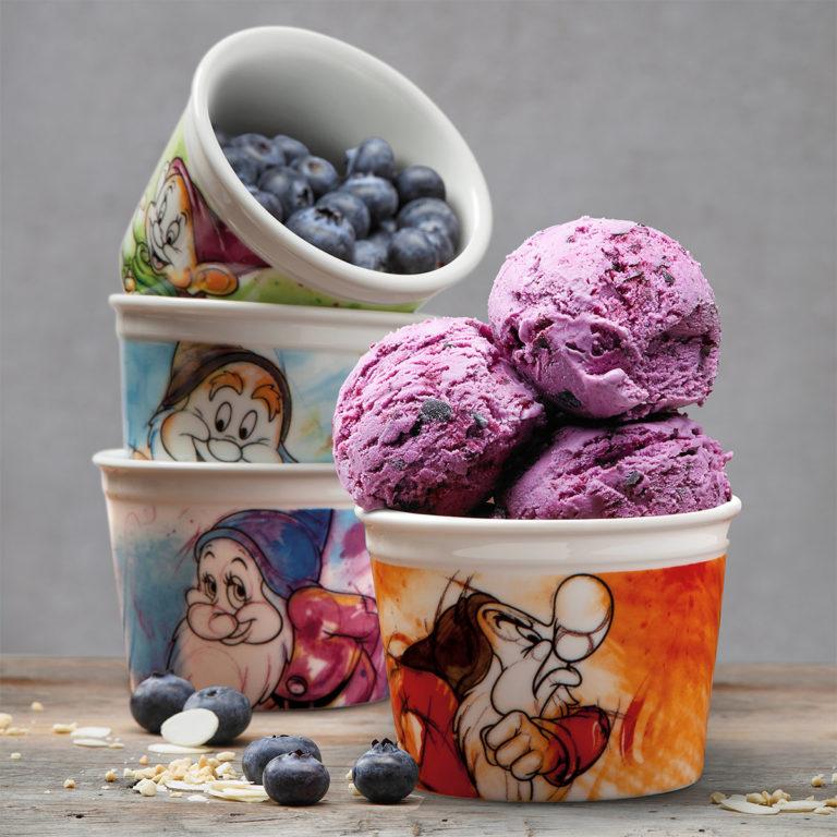 Ice Cream Grumpy Cup With Spoon 7 Dwarfs