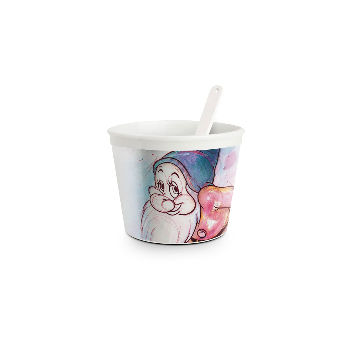 Ice Cream Bashful Cup With Spoon 7 Dwarfs - Disney Home