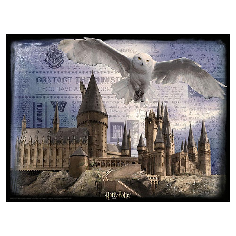 Hogwarts & Hedwig Puzzle