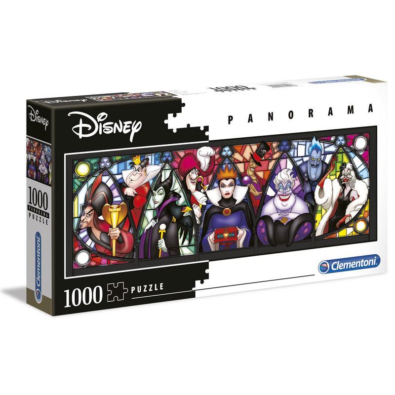 Disney Villains Panorama Puzzle 1000pcs