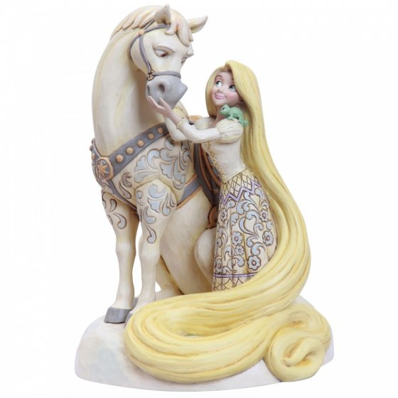 Innocent Ingenue - Rapunzel White Woodland Figurine