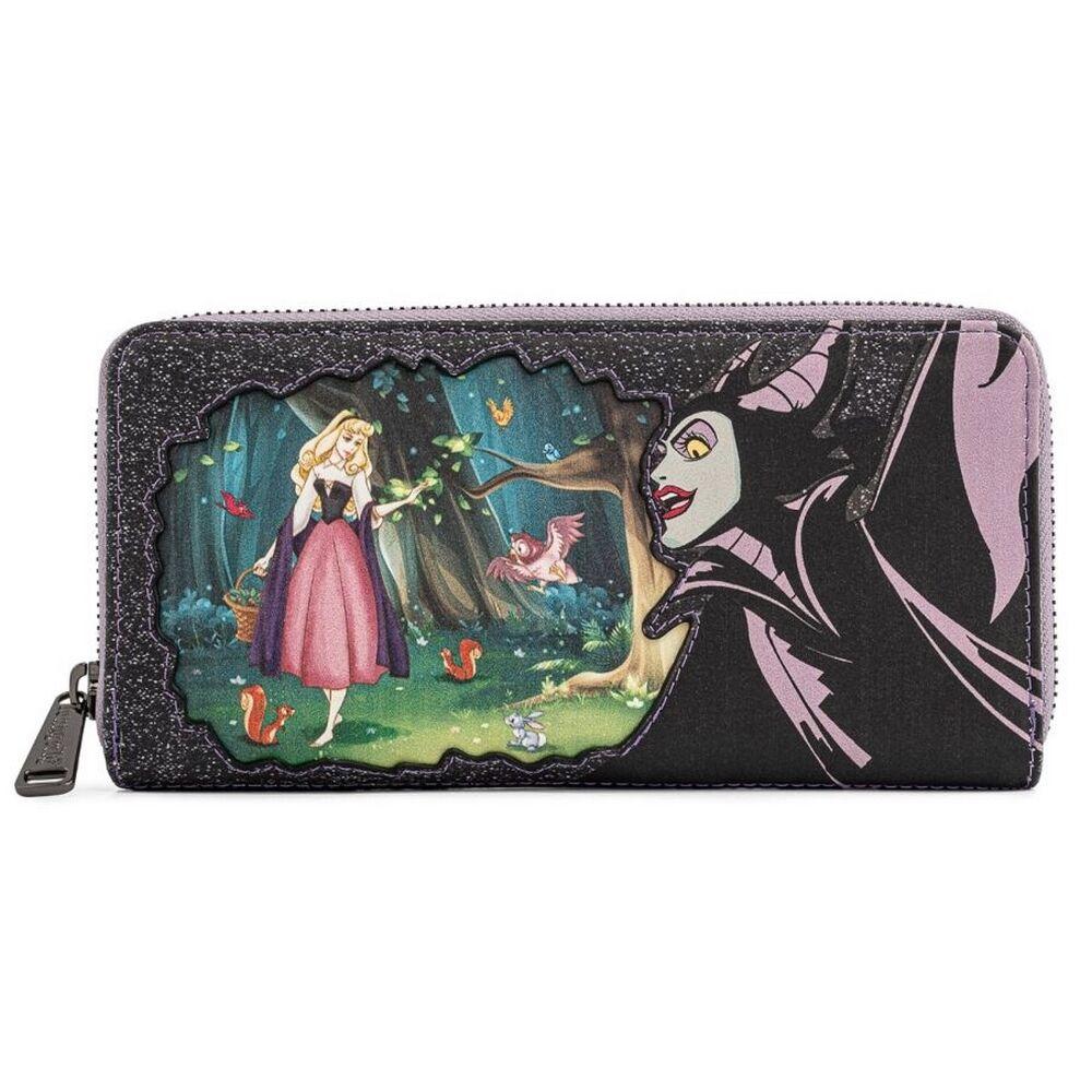 Loungefly Disney Villains Scene Maleficent Wallet