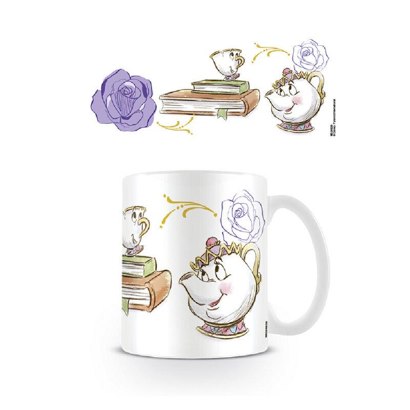 Enchanted Chip Mug- Beauty and the Beast