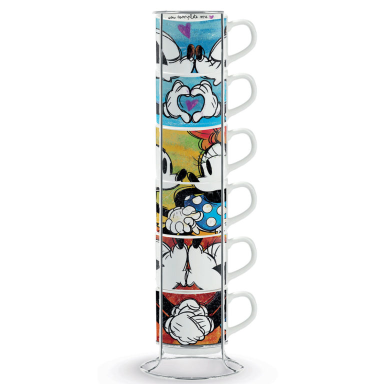 Stackable Espresso Cups Mickey Mouse
