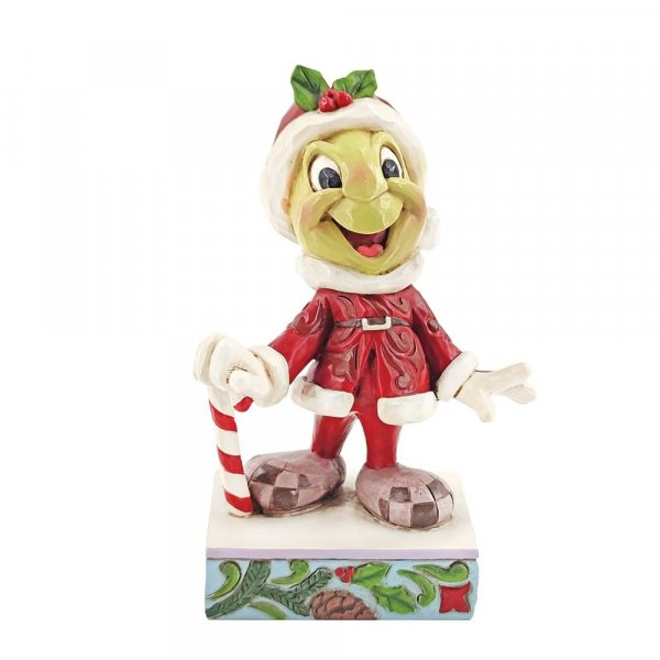 Christmas Jiminy Cricket Figurine