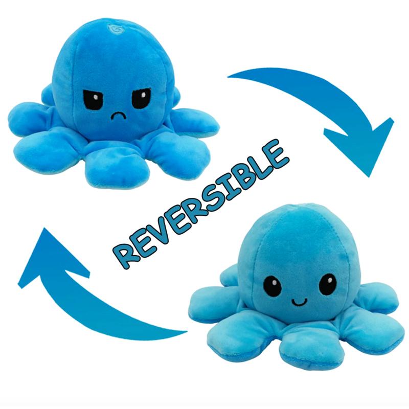 Blue & Aqua Reversible Octopus